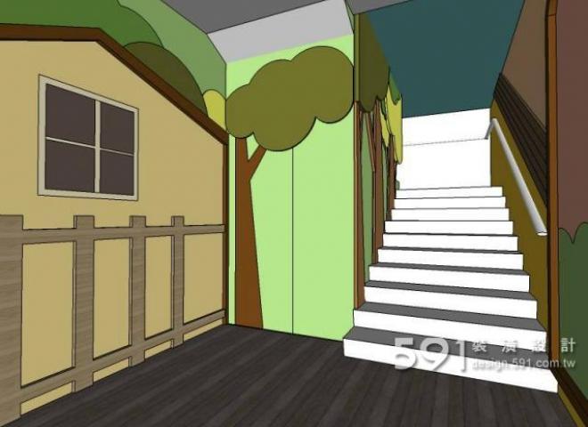 郑州格林童话幼儿园设计大师手绘邀您一起赏析