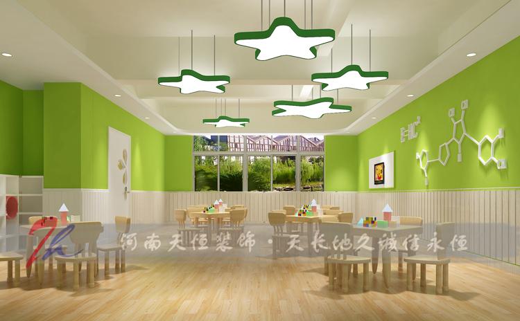 郑州幼儿园装修公司教你幼儿园吊顶如何装修设计