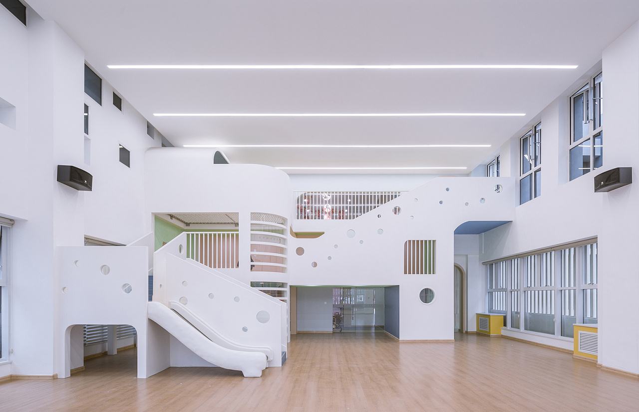 高端幼儿园室内设计效果图